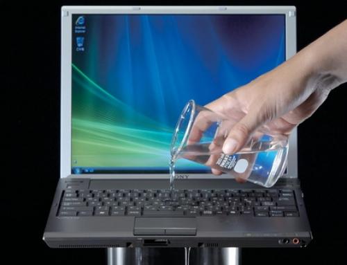 Wat te doen bij laptop waterschade